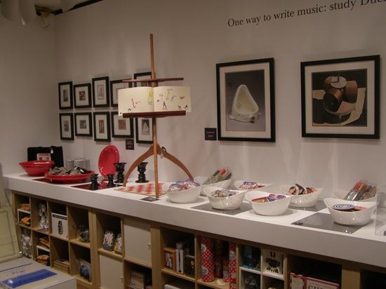 Handmade music stand in cherry.