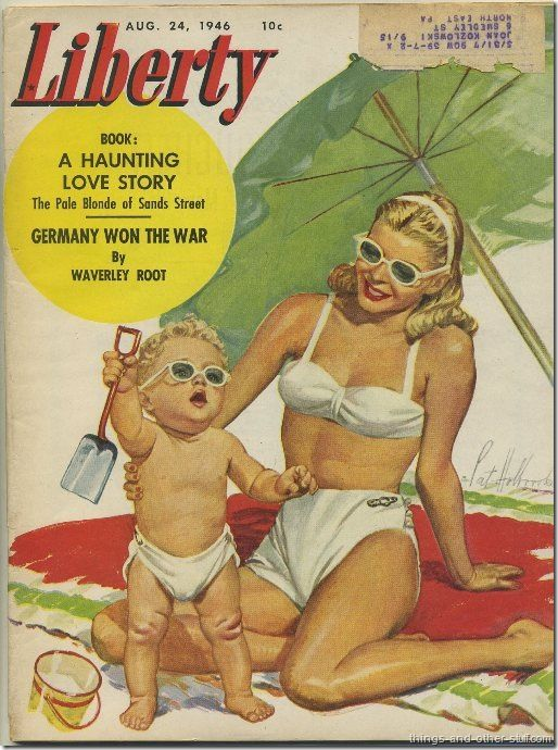 That baby boy is my dad! vintage 1940 ads