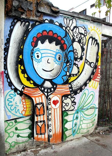 Brazil has the best graffiti art!