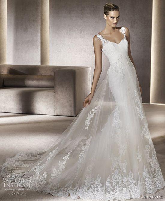pronovias 2012 petunia wedding gown