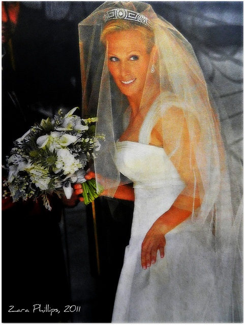 Bride: Zara Phillips, granddaughter of the Queen (2011)