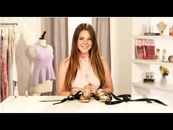 DIY Fashion, Ballet Flats With Ribbon, Fab Flash - YouTube