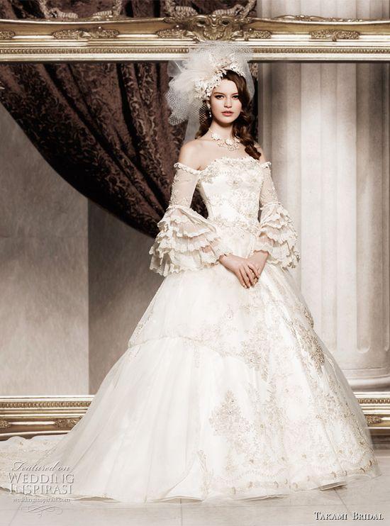 Royal Wedding Dresses by Takami Bridal