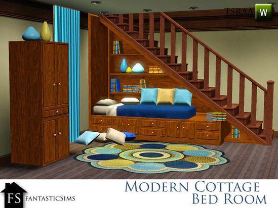 fantasticSims' Modern Cottage Bed Room