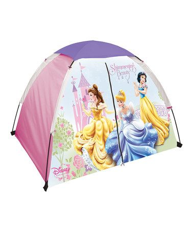 Purple Princesses Floorless Tent by Disney on #zulily!