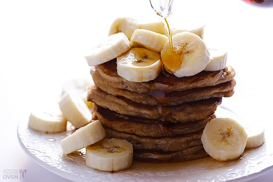 Banana Pancakes @Ali Velez Ebright (Gimme Some Oven)