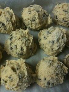 edible cookie dough - no eggs