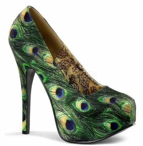 I peacock you to be my shoe. ;)