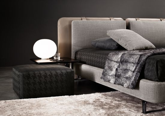 #interiors, furniture design, bedroom# MINOTTI