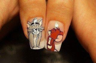 tom and jerry nails