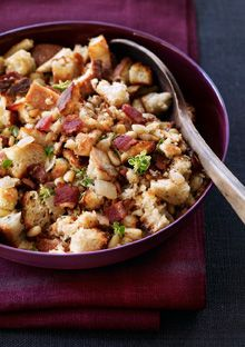 Bacon Nut Stuffing