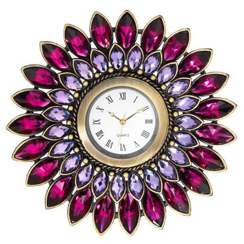 Amethyst Desk Clock More Beautiful Hollywood Interior Design Inspirations To Repin & Share @ InStyle-Decor.com Beverly Hills Enjoy