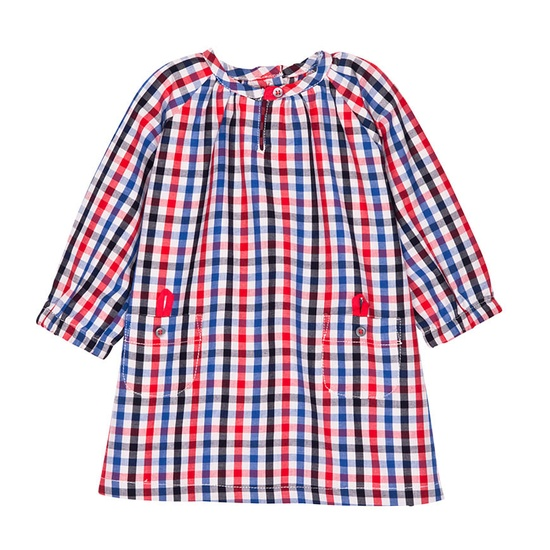 BABY GIRL CHECKED DRESS....I would love this with tights and boots!