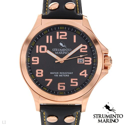 STRUMENTO MARINO SM046LRG/BK Men's Watch