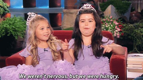 The 35 greatest moments on the Ellen show.. #1, Sophia Grace and Rosie.. #2, every interaction with Taylor Swift ever. I share her sentiments.
