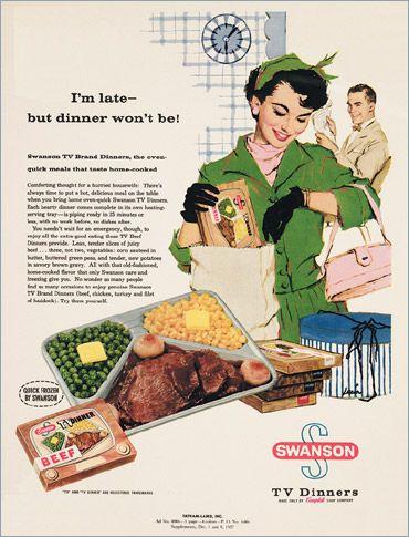 Swanson TV Dinners, 1950s