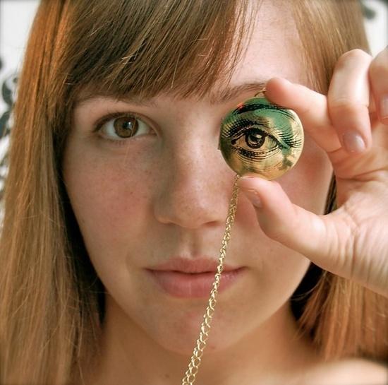 The Watchful Eye Locket