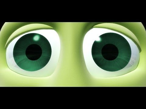 3D Character Eyes in 3DS Max -- Video Tutorial