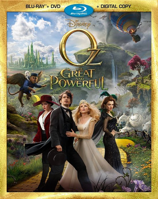 Oz The Great and Powerful is coming to Blu-ray Combo Pack and HD Digital 6/11!