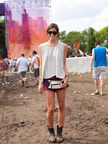 Street Style at the Governors Ball 2013, Sara