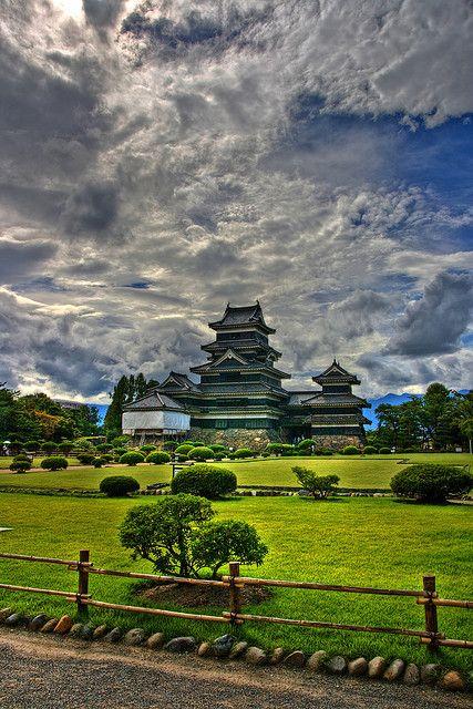 Matsumoto Castle Gardens~Japan