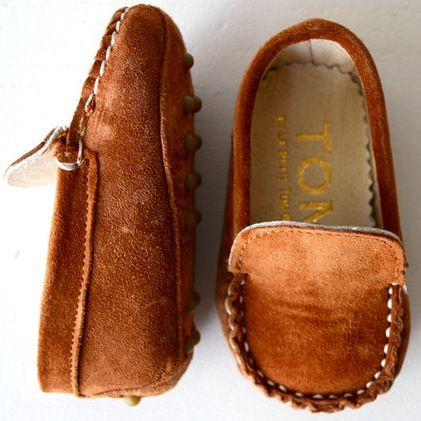Adorable baby shoes from Le Petit Tom