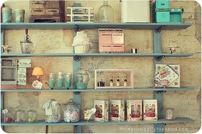 Back in the Day Bakery- my very favorite bakery....turning into inspiration on how to decorate my kitchen!