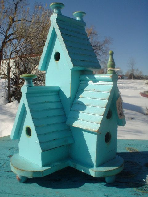 perfect little bird house!
