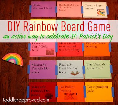 rainbow game for St Pat's day