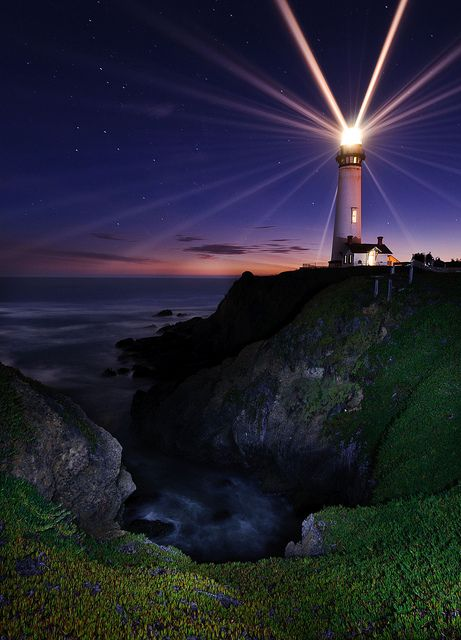 Pigeon Point Lighthouse, California, USA by RadiHoliday