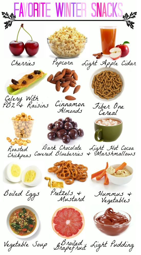 My favorite healthy winter snacks!