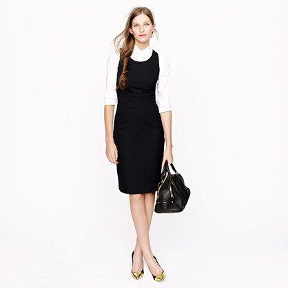 Emmaleigh dress in Super 120s