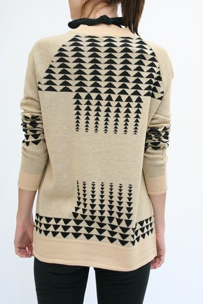 pendleton arrow sweater