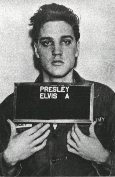 Elvis #mugshot
