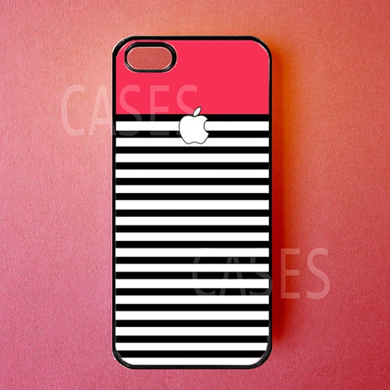 Iphone 5 Case Red Stripes Iphone Cover Best Unique by DzinerCases, $14.99