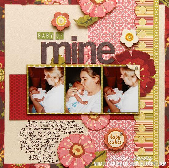 Baby Of Mine - Scrapbook.com