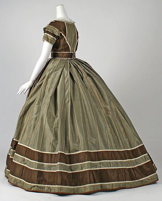 Dress, Evening    Date:      ca. 1866