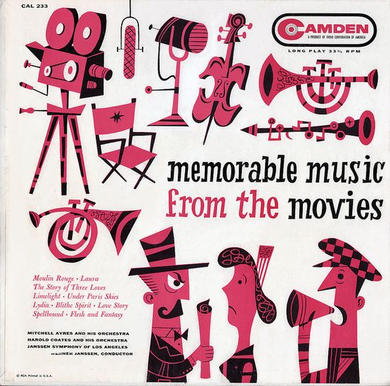 Memorable Music from the Movies (1956) by Jim Flora.