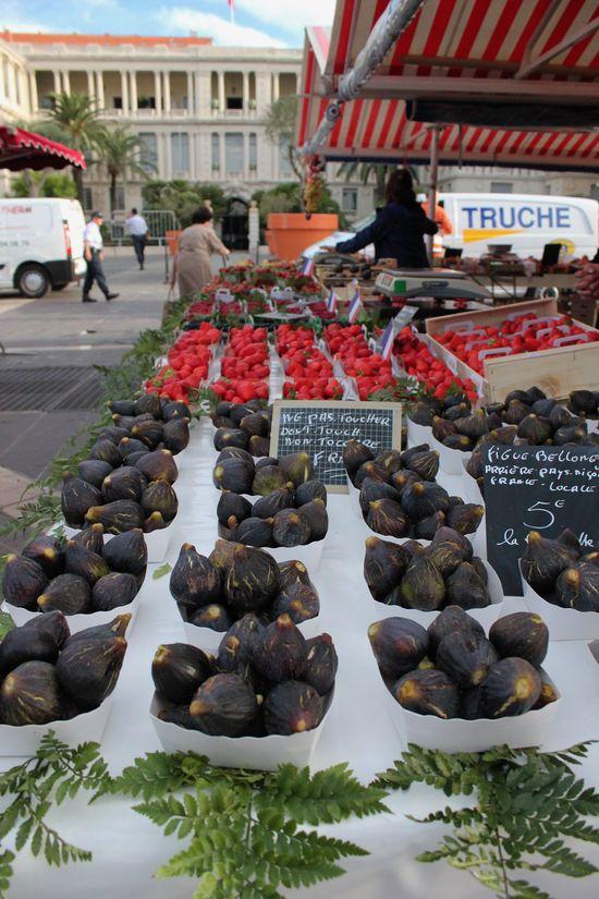 Fresh fruit, Nice, France
