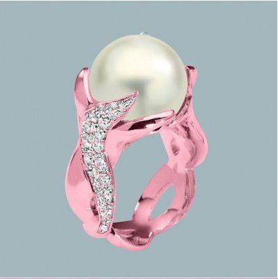 ? Pink Diamond Engagement Ring ?