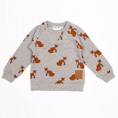 Made with Love Kids — Fox Sweatshirt