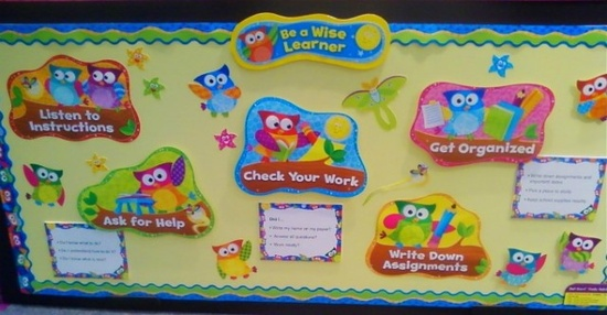 Owl Stars Classroom Decorations ~ Classroom decor ideas days of the week and months
