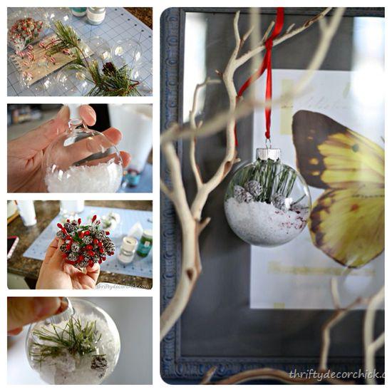 Easy #Christmas decorating #DIY