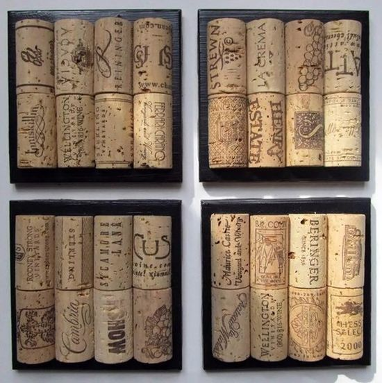 Great idea if you are like me who saves all my wine corks.