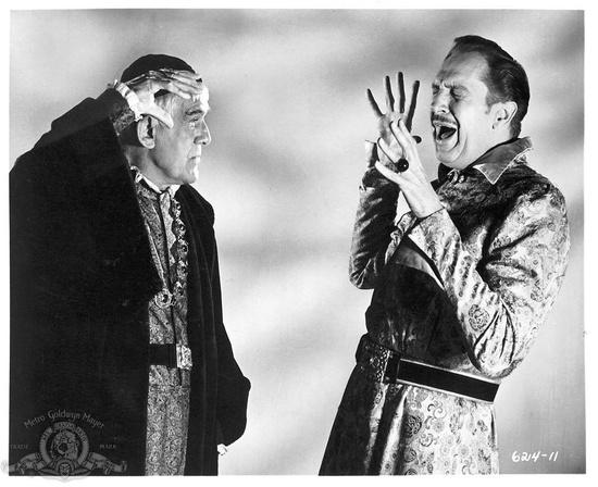 Boris Karloff & Vincent Price