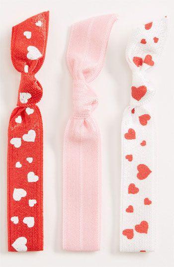 Valentine' Hair Ties