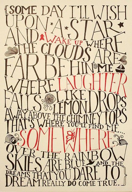 I love The Wizard of Oz.