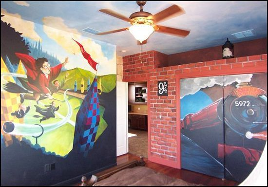 Harry Potter Bedroom Decorating
