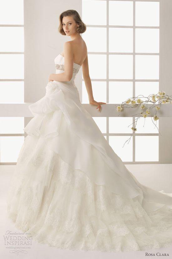 Two by Rosa Clará 2013 Wedding Dresses