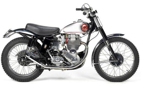 1961 BSA 499cc Gold Star Scrambler